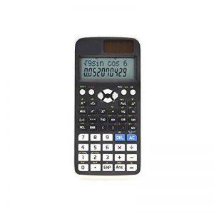 HONGYUANZHANG Calculatrice Scientifique Mini Calculatrice Compteur 240 Fonctions 2 Ligne Lcd Affichage Business Office École Étudiant Sat Test Calculer (8 * 16,2 * 1,1 Cm) de la marque HONGYUANZHANG image 0 produit