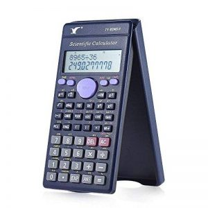HONGYUANZHANG Calculatrice Scientifique Mini Calculatrice Compteur 240 Fonctions 2 Lignes Ecran Lcd Business Office School Student Test Sat Calculer (15,3 * 7,8 * 1,2 Cm), 8,52 de la marque HONGYUANZHANG image 0 produit