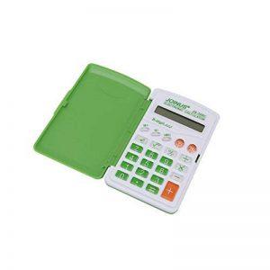 HONGYUANZHANG Mini Calculatrice Électronique À 8 Chiffres Calculatrice Électronique Alimentée À LaMain Calculatrice De Bureau Colorée Portable (10 × 6 × 1 Cm), Verte de la marque HONGYUANZHANG image 0 produit