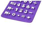 HONGYUANZHANG Mini Calculatrice Solaire Scientifique Pliable En Silicone Souple 8 Digital 11X7.3Cm Pour Bureau Scolaire, Violet de la marque HONGYUANZHANG image 4 produit