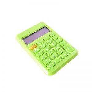 HONGYUANZHANG Étudiant Mini Calculatrice Électronique Bonbons Couleur Calcul Fournitures De Bureau Cadeau 9 * 6 Cm, Vert Clair de la marque HONGYUANZHANG image 0 produit