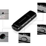 HooToo®- Micro Usb Caméra espion Enregistreur D'ESPION / Carte MIRCO-SD 16G (non inclus) supporté / Multi fonctions - Vidéo /Webcam/Dictaphone / Usb disque , Noir de la marque HooToo image 1 produit