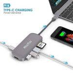 HooToo USB C Hub Type-C Shuttle 3 Ports USB 3.0, Slot HDMI 4K Ultra HD Lecteur de Carte SD, Puissance de Charge, Compatible 2016 Mac/Mac Pro/Chromebox Pixel MFi Certifié – Gris Sidéral de la marque HooToo image 2 produit