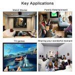 HOUKOLI Câble Lightning HDMI 2M Adaptateur Lightning vers HDMI 1080P Haute Vitesse Transmettre Audio Vidéo TV Projecteur, Compatible avec iPhone X/8/7/6/5 iPad iPod iTouch - Soutenir iOS 11 de la marque HOUKOLI image 4 produit