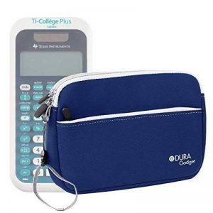 Housse en néoprène bleu pour Texas Instruments TI-College Plus Calculatrice scientifique + poignée et poche frontale DURAGADGET - Calculatrice non fournie de la marque Duragadget image 0 produit