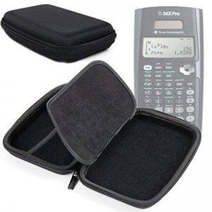 Housse rigide de protection pour Texas Instruments TEX-TI36XPRO Calculatrice Scientifique - nylon noir léger par DURAGADGET - Calculatrice non fournie de la marque Duragadget image 0 produit