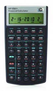 HP 10bII+ Calculatrice Financière Noir de la marque HP image 0 produit