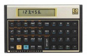HP 12c Calculatrice Financière Noir de la marque HP image 0 produit