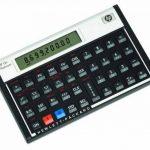 HP 12c Platinium Calculatrice Financière Noir de la marque HP image 1 produit