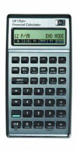 HP-17BII+ Calculatrice Financière de la marque HP image 0 produit