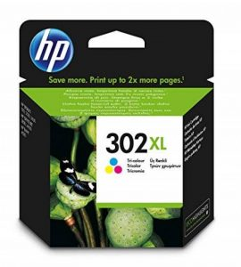 HP 302XL Cartouche d'Encre Trois Couleurs (Cartouche Cyan, Magenta, Jaune) Authentique Grande Capacité (F6U67AE) de la marque HP image 0 produit