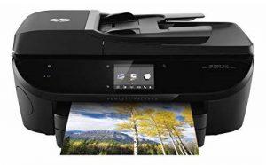 HP ENVY 7640 Imprimante Multifonction Jet d'Encre (14 ppm, 4 800 x 1 200 ppp, USB, Ethernet, Wifi, Impression Mobile, NFC) de la marque HP image 0 produit