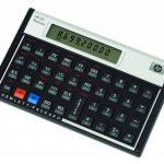 HP - F2231-12c Platinum Calculatrice financière Noir de la marque HP image 2 produit