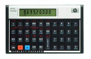 HP - F2231-12c Platinum Calculatrice financière Noir de la marque HP image 0 produit