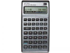 HP F2234A Calculatrice financière Mémoire 28 Ko 250 Fonctions intégrées Livrée avec pochette HP17bII+ de la marque HP image 0 produit