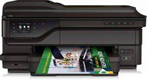 HP G1X85A#A80 OfficeJet 7612 Imprimante Multifonction jet d'encre A3 couleur (15 ppm, 4800 x 1200 ppp, USB, Wifi, Ethernet, Fax) de la marque HP image 0 produit