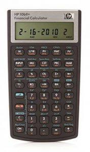 HP HP10bII+ Calculatrice financière de la marque HP image 0 produit