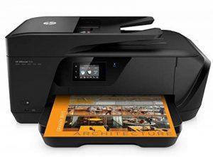HP OfficeJet 7510 Imprimante Multifonction A3 Jet d'encre (15 ppm, 4800 x 1200 Ppp, WiFi, Impression Mobile, USB, RJ-11, Ethernet) de la marque HP image 0 produit