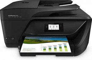 HP OfficeJet Imprimante Tout-en-Un Instant Ink Ready Noir Noir 0.0 de la marque HP image 0 produit