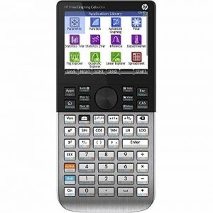 HP Prime Graphing Calculator Poche Calculatrice graphique Argent - calculatrices (Poche, Calculatrice graphique, Argent, 400 MHz ARM9, boutons, 10 lignes) de la marque HP image 0 produit