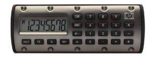 HP QuickCalc1pk Calculatrice de poche Bronze de la marque HP image 0 produit