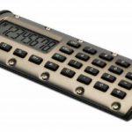 HP QuickCalc1pk Calculatrice de poche Bronze de la marque HP image 2 produit
