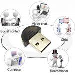 """HUACAM HAS03 USB 2.0 mini microphone """"makio"""" micro pour PC de bureau, ordinateur portable, ordinateur portable, Skype, MSN, VoIP, etc.voice logiciel de reconnaissance, 2 pack de la marque HUACAM image 1 produit"""