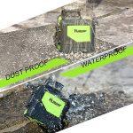Huepar 901CG Laser de Niveau Vert - Laser mesure portée 45m, Auto Couverture de 360 degrés, Ligne horizontale et verticale, 2 modes d'impulsion, AVEC Base magnétique pivotante (Piles inclus) de la marque Huepar image 4 produit