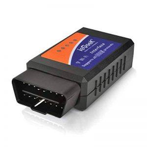 ieGeek OBD WiFi OBD2 Mini Adaptateur Sans-Fil Scanner Code de Défaut pour Véhicule Mini Outils - Connexion via WiFi sur Téléphone ( iPhone et Android) - 3000 Code Base de Données de la marque ieGeek image 0 produit