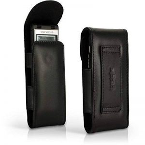 igadgitz u4333Coque de Cuir pour Olympus Enregistreur de voix numérique ws-852WS-853–Noir de la marque igadgitz image 0 produit