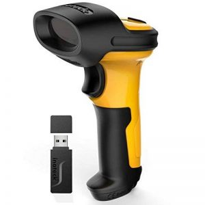 Inateck 2,4 GHz USB Barcode Scanner,Lecteur Code Barre sans Fil,Douchette USB Laser Code Barre Scanner, Batterie 2600mAh, Scan automatique rapide et précise et la plage du scan 60m,NOIR P6 de la marque Inateck image 0 produit
