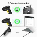 Inateck Scanner de Codes-Barres 1D & 2D sans Fil pour POS, Jumelage Bluetooth/2,4Ghz et par Câble, Lecteur de Codes-Barres BCST-50 de la marque Inateck image 3 produit