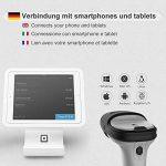 Inateck Scanner de Codes-barres Bluetooth Sans fil, Autonomie d'environ 15 jours, Portée 35 m, Scan Automatique Rapide et Précis, BCST-70 de la marque Inateck image 1 produit