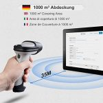 Inateck Scanner de Codes-barres Bluetooth Sans fil, Autonomie d'environ 15 jours, Portée 35 m, Scan Automatique Rapide et Précis, BCST-70 de la marque Inateck image 3 produit