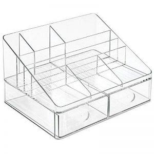 InterDesign 42050EU Linus Rangement de Bureau Plastique Transparent de la marque InterDesign image 0 produit