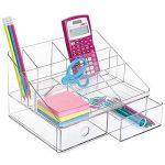 InterDesign 42050EU Linus Rangement de Bureau Plastique Transparent de la marque InterDesign image 2 produit