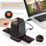 INTEY Scanners de Diapositives et Négatifs USB 2.0 Scanner Convertisseur Film et Slide de Haute Résolution 5 Mégapixels pour Système Windows et Mac -Noir de la marque image 3 produit