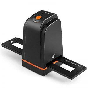 INTEY Scanners de Diapositives et Négatifs USB 2.0 Scanner Convertisseur Film et Slide de Haute Résolution 5 Mégapixels pour Système Windows et Mac -Noir de la marque INTEY image 0 produit