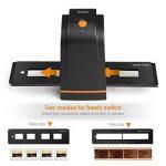 INTEY Scanners de Diapositives et Négatifs USB 2.0 Scanner Convertisseur Film et Slide de Haute Résolution 5 Mégapixels pour Système Windows et Mac -Noir de la marque image 2 produit