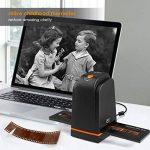 INTEY Scanners de Diapositives et Négatifs USB 2.0 Scanner Convertisseur Film et Slide de Haute Résolution 5 Mégapixels pour Système Windows et Mac -Noir de la marque image 4 produit