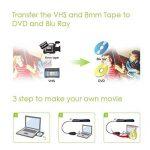 InVaFoCo Enregistreur Vidéo Audio, Adaptateur de Capture Vidéo USB 2.0, Convertisseur VHS vers DVD, Câble de Transfert S-Vidéo / RGB à USB pour Windows de la marque InVaFoCo image 3 produit