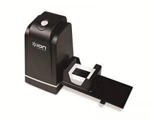 ION - Slides 2 PC Scanner de diapositives et de négatifs 35 mm | Scanner haute résolution | Numérisation simple et rapide | Incl. Porte-diapositives ajustable Rapid Slide Feeder et logiciel de la marque Ion image 0 produit