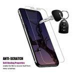 iPhone X Protection d'écran (Pack de 3+2), BOKEYU Film Protection écran en TPU souple, Protection Complète Anti-rayures, Bulles Gratuits, Installation Facile pour Apple iPhone X de la marque BOKEYU image 2 produit