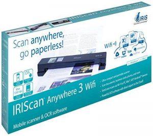 Iris IRIScan Anywhere 3 Wifi Scanneur mobile A4 USB Noir de la marque IRIS image 0 produit