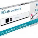 Iris - IRIScan Anywhere 5 Numériseur Portable | Numériseur Portable | Autonome & Rapide | DIN A4 | Numérisation de Documents | sans Ordinateur | Batterie Lithium-Polymère Durable - Blanc de la marque R.I.S image 2 produit