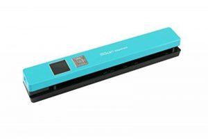 Iris - IRIScan Anywhere 5 Numériseur Portable WiFi | Numériseur Portable | Autonome & Rapide | DIN A4 | Numérisation de Documents | sans Ordinateur | Batterie Lithium-Polymère Durable - Turquoise de la marque R.I.S image 0 produit
