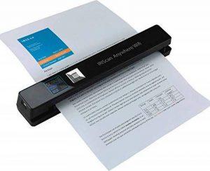 Iris - IRIScan Anywhere 5 Numériseur Portable WiFi | Numériseur Portable | Autonome & Rapide | DIN A4 | Numérisation de Documents | sans Ordinateur | Batterie Lithium-Polymère Durable - Noir de la marque R.I.S image 0 produit
