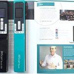 Iris - IRIScan Book 5 Numériseur Portable en Couleur | Numériseur Portable | Rapid | DIN A4 | Numérisation au Format PDF & JPEG | sans Ordinateur | Batterie Lithium Longue Durée - Noir de la marque IRIS image 2 produit