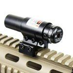 IRON JIA'S Spike Lunettes de visée Compact vue Red Dot Laser réglable w/montage pour 20mm Picatinny & 11mm Rails Airsoft Chasse de la marque IRON JIA'S image 3 produit