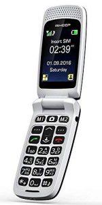 ISHEEP GSM Téléphone Portable Débloqué avec Grandes Touches - Noir de la marque isheep image 0 produit